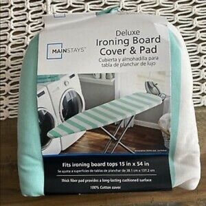 Striped Ironing Board Cover And Pad